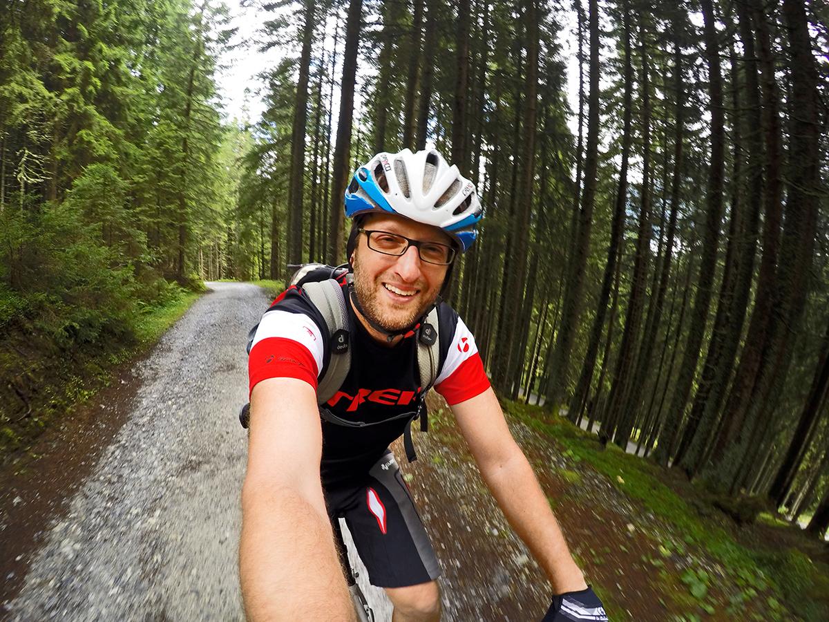 Fahrradfahren in Gastein