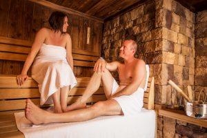 Saunawelt in den Thermen von Gastein